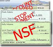 writing bad checks Theft & fraud florida's worthless / bounced check law does not criminalize the mere writing a check when in any prosecution for bad check or.